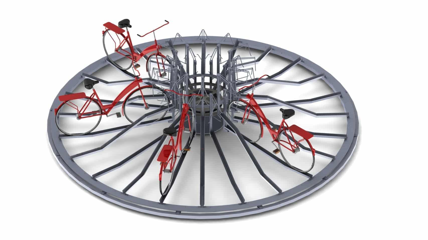 VelowSpace Automatische fietsenstalling